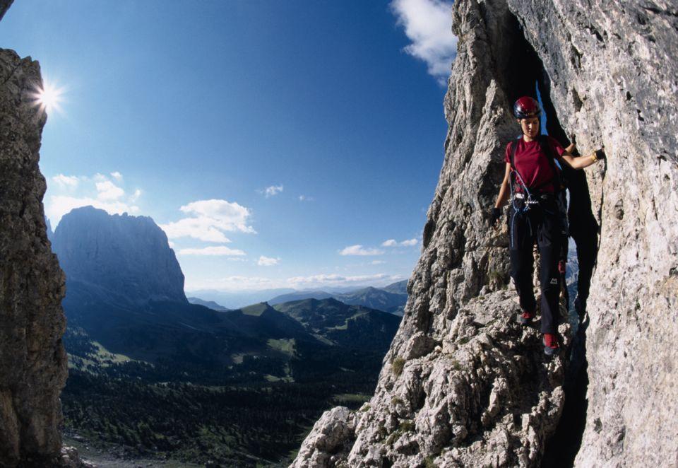 Klettersteig Plattkofel : Klettersteig eldorado zwischen sella und langkofel dav summit club