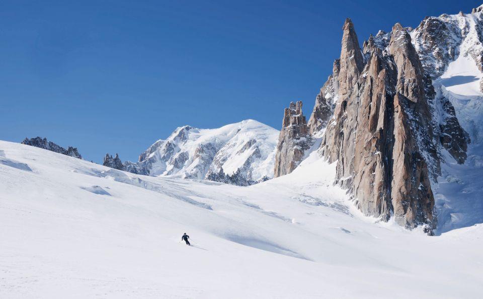 Klettersteig Chamonix : Chamonix plus spektakuläres freeride erlebnis in den westalpen