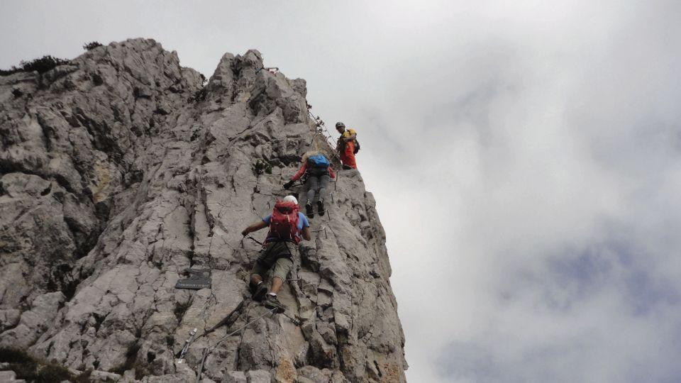 Klettersteig Usa : Klettersteige an der paganella und brenta südseite dav