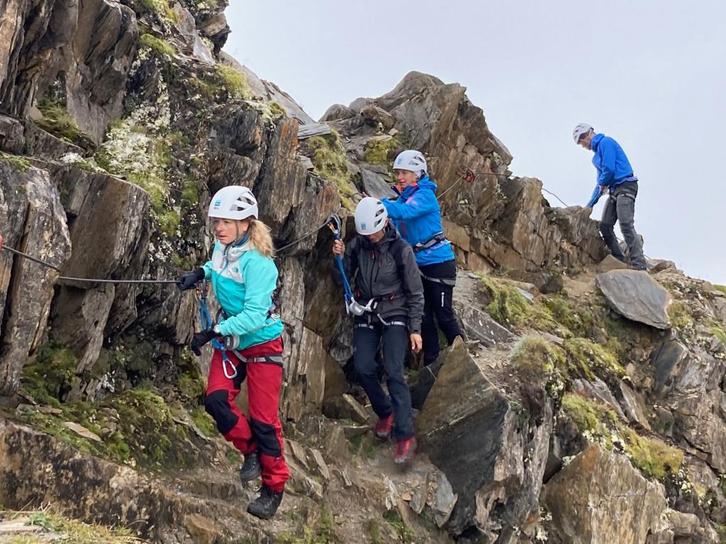 Klettersteig Usa : Klettersteig schnupperkurs für einsteiger in der silvretta dav