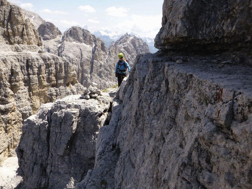 Klettersteig Usa : Grandiose klettersteig runde im rosengarten mit kesselkogel dav