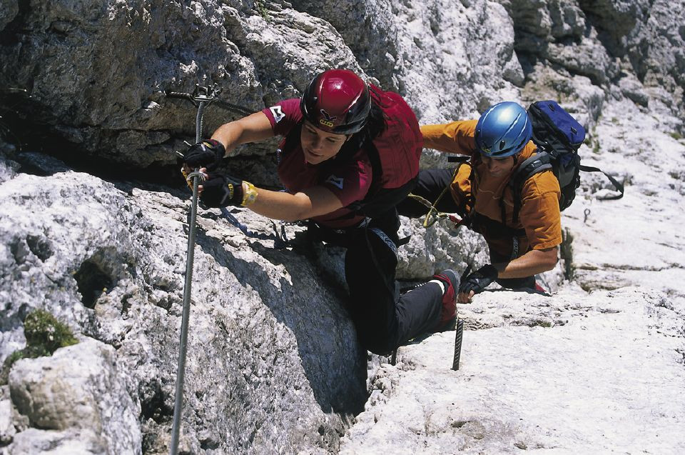 Klettersteig Usa : Klettersteig eldorado zwischen sella und langkofel dav summit club