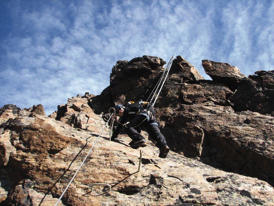 Klettersteig Usa : Vom simplonpass zum strahlhorn u klettersteige und viertausender