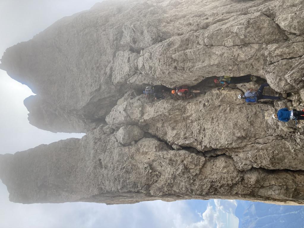 Klettersteig Rosengarten : Grandiose klettersteig runde im rosengarten mit kesselkogel dav