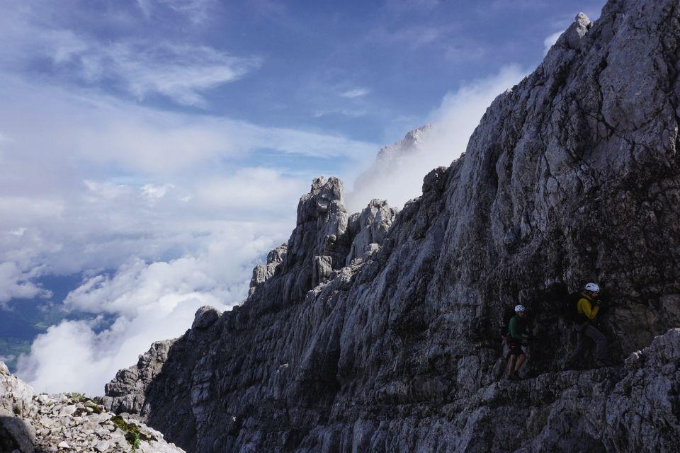 Klettersteig Watzmann : Geführte klettersteige in berchtesgaden rund um den watzmann