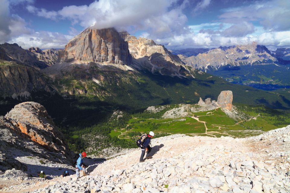 Klettersteig Croda Dei Toni : Tofana und cinque torri u rassige klettersteige rund um cortina d